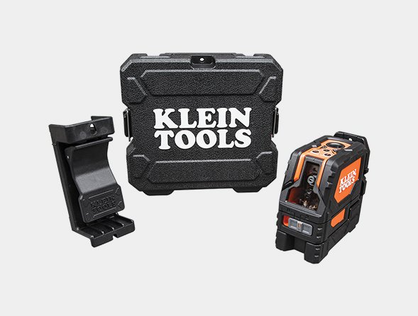 Self-Leveling Cross-Line Laser Level with Plumb Spot